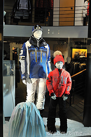 Bogner fashion store Editorial Stock Photo