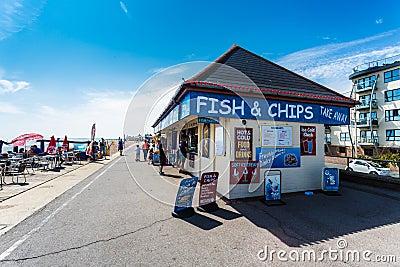 Bognor Regis Promenade Editorial Stock Photo