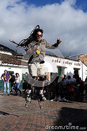 Bogota - La Candelaria Editorial Photo