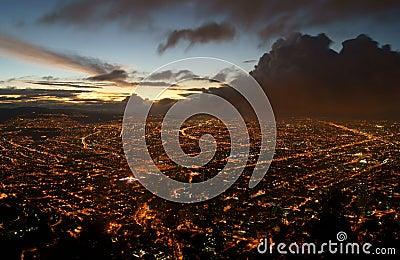 Bogota Before a Storm