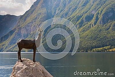 Bohnij Lake in Slovenia