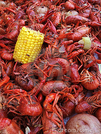 Free Boiled Crawfish Royalty Free Stock Image - 10467036