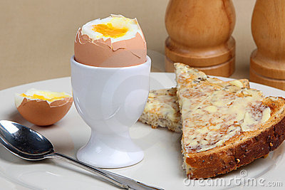 Boiled Egg & Toast