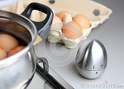 Boilling eggs