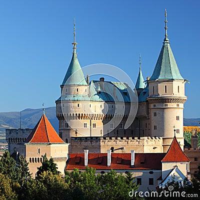 Free Bojnice Castle Royalty Free Stock Photo - 24783975