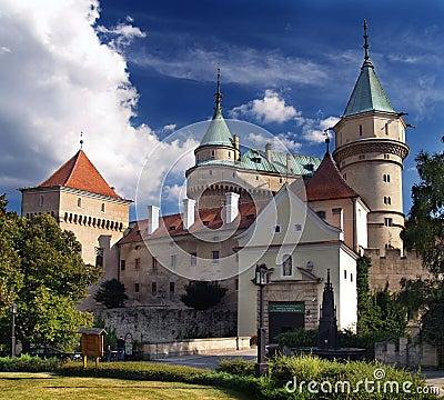 Free Bojnice Castle - Entrance Royalty Free Stock Photos - 7168998