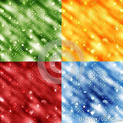 Bokeh backgrounds vector