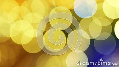 Bokeh de scintillement de lumières de Noël de gradient banque de vidéos