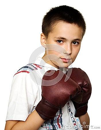 Bokserska chłopiec