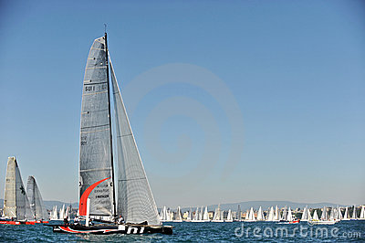 Bol d Or 2009 - Sailing Editorial Stock Image