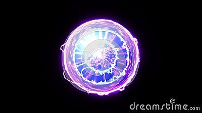 Bola de la energ?a ilustración del vector