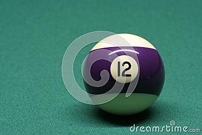 Bola de piscina número 12