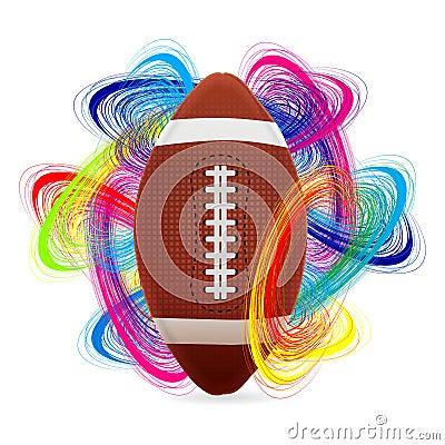 Bola del fútbol americano