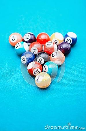 Bolas de jogo da associação