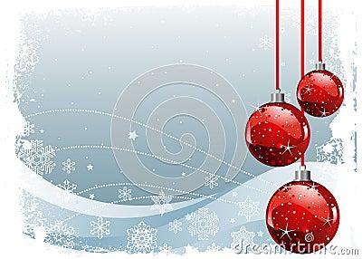 Bolas rojas de la navidad imagen de archivo imagen 17192541 for Arbol de navidad con bolas rojas