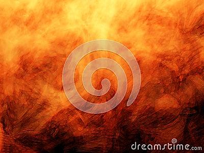 Bold fire flames