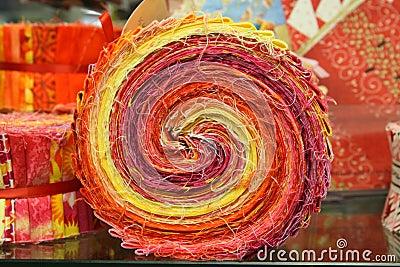 Bold Quilt Swirls
