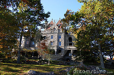 Boldt Castle in Thousand Islands, New York