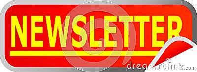 Boletín de noticias del botón