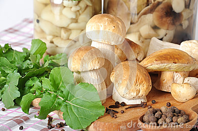 Boletus and spices
