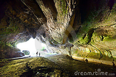 The Bolii Cave in Romania