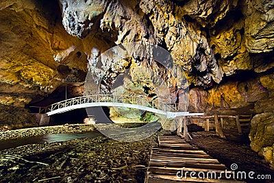 The Bolii Cave in Romania