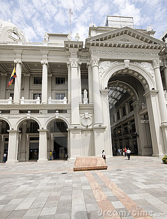 Bolivar palace of government guayaquil ecuador