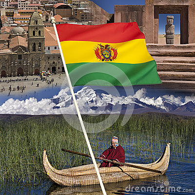 Bolivia - Tourist Destinations Editorial Stock Photo