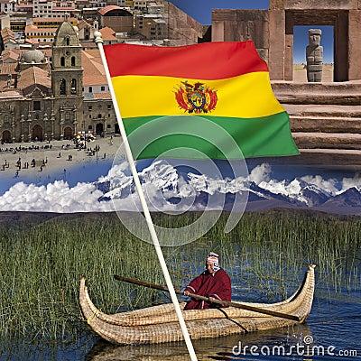 Bolivia - Tourist Destinations Editorial Stock Photo