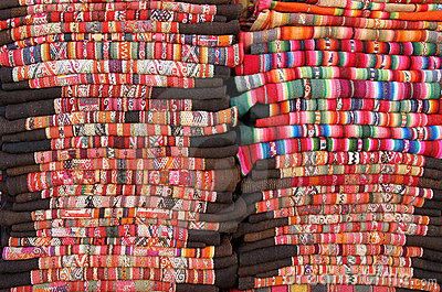 Bolivian blankets