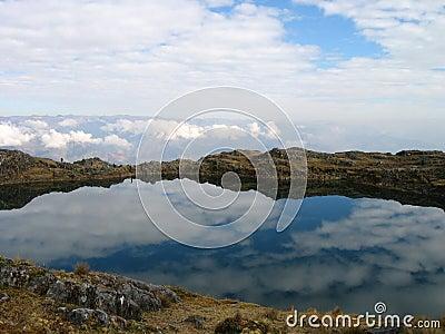 Bolivian lake