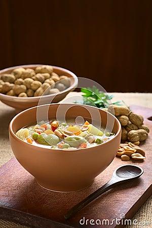 Free Bolivian Sopa De Mani (Peanut Soup) Stock Photos - 51131143