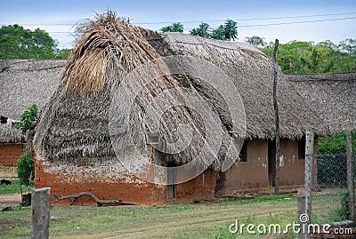 Bolivian village