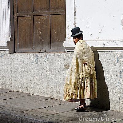 Bolivian woman Editorial Image