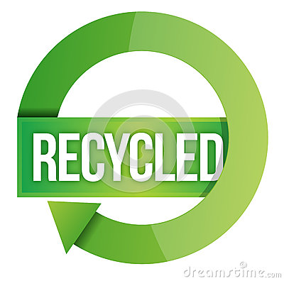 Bollo riciclato verde