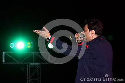 Bollywood Singer Editorial Stock Photo
