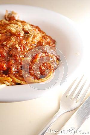 Free Bolognaise Pasta Stock Photography - 20872242
