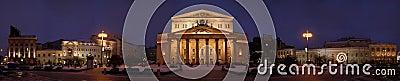 Bolshoi theater panorama