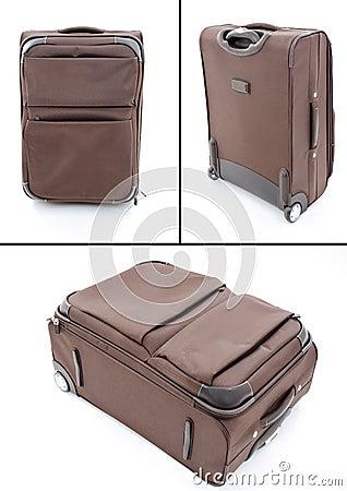 Bolso del equipaje del recorrido de la maleta