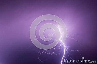 Bolt of light