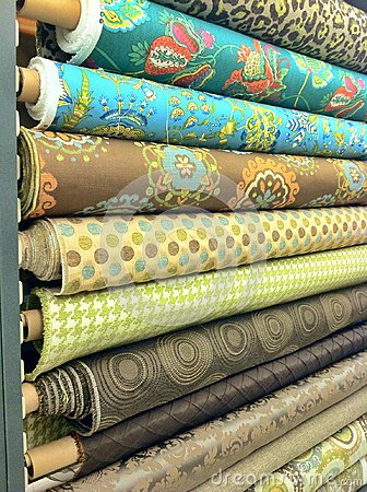 Bolt of material fabric