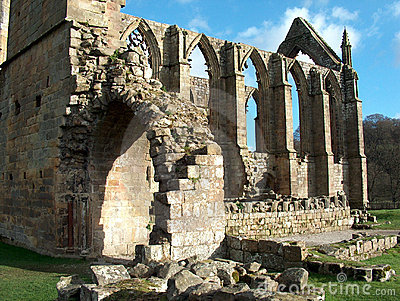 Bolton Abbey - rear view