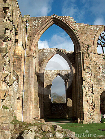 Bolton Abbey - row of arches
