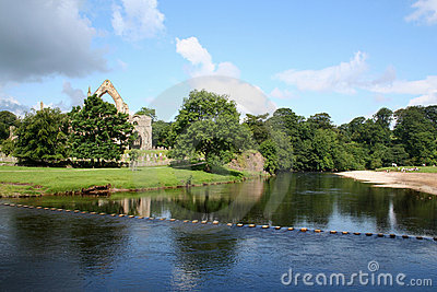 Bolton Abbey, Yorkshire.