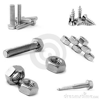 Bolts, screws and nuts?