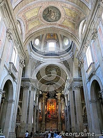 Bom Jesus do Monte in Braga, Portugal Editorial Stock Photo