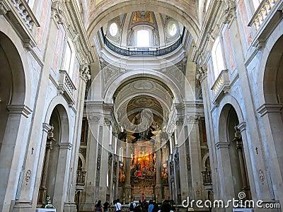 Bom Jesus faz Monte em Braga, Portugal Imagem de Stock Editorial