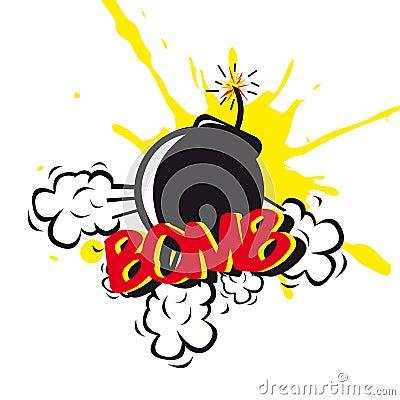 Bomb comic