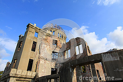 A-Bomb Dome, Hiroshima : Japan