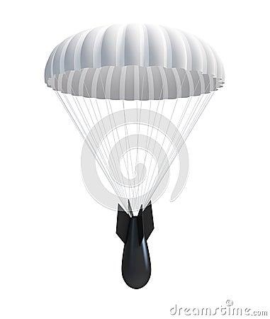 Bomb at Parachute